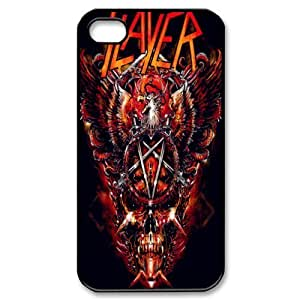 JS-2 Music Band Slayer Black Print Hard Shell Case for iPhone 4/iPhone 4S