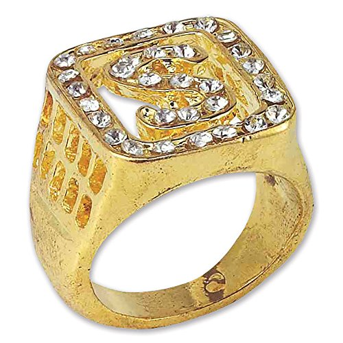 Bristol Novelty BA878 Big Daddy Ring, One Size -