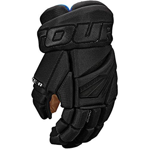 Line Hockey In Gloves (Tour HOCKEY CODE 1 INLINE HOCKEY GLOVES BLACK/RED 12 INCH)