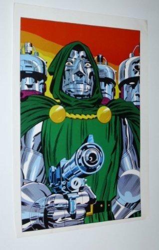 1970's Dr Doom poster! Rare vintage original 1978 Marvel Comics Fantastic Four villain Dr