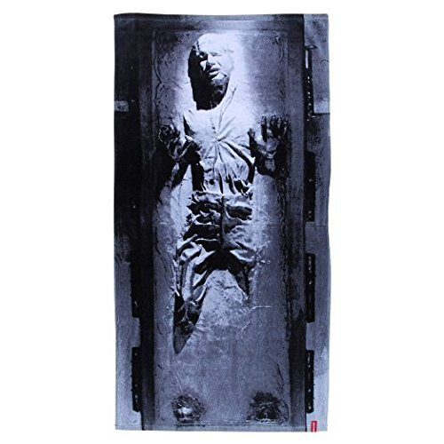 Star Wars Han Solo in Carbonite Beach Towel
