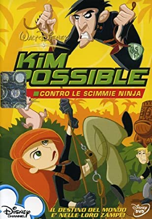 Kim Possible Contro Le Scimmie Ninja [Italia] [DVD]: Amazon ...