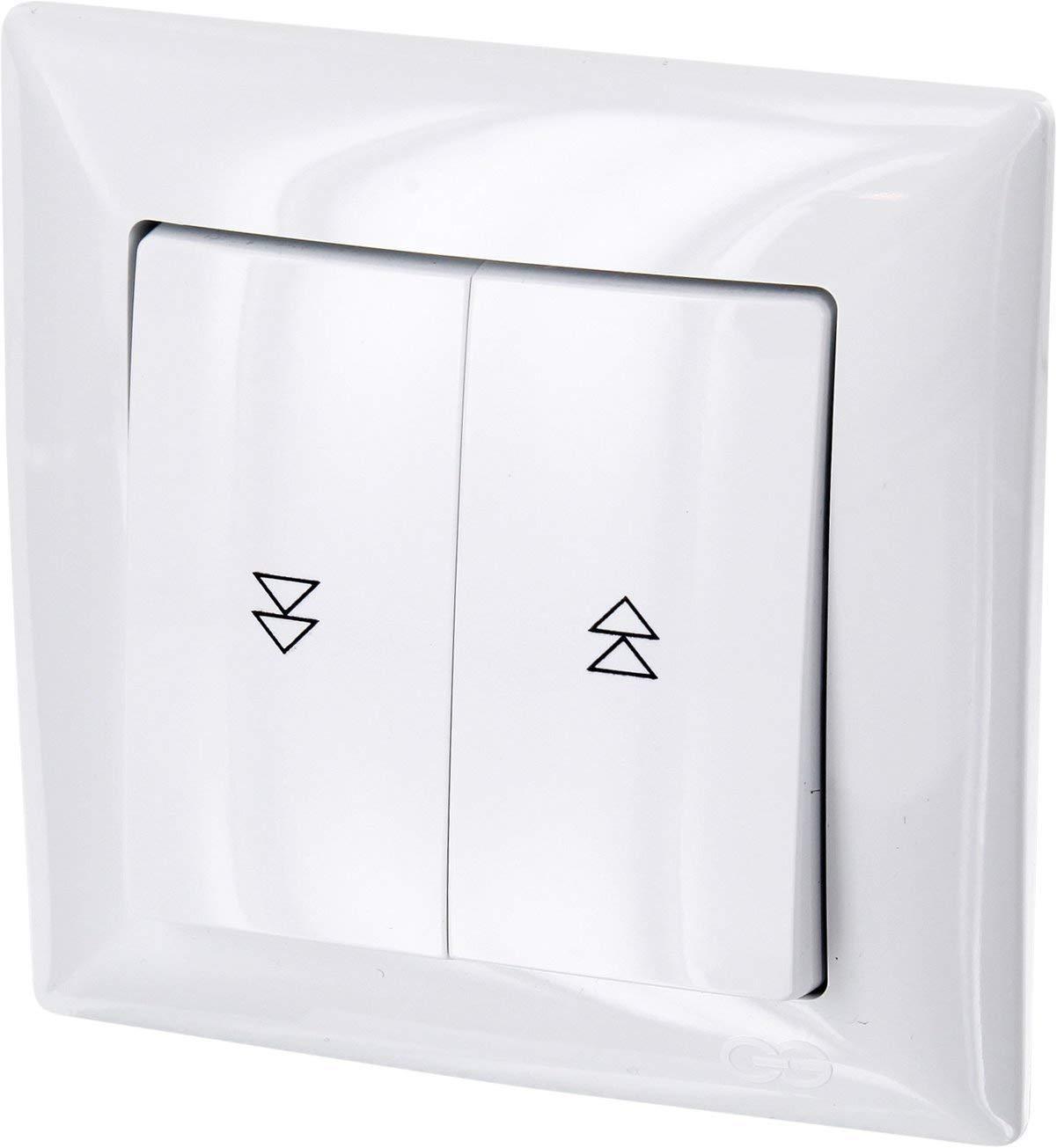 Up –  All-in-One –  Marco + rasante de persianas + Protectora (Serie G1 Color Blanco) HAVA