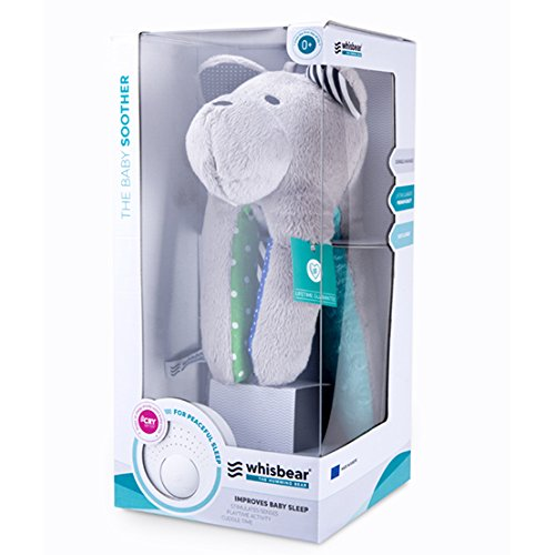 Whisbear Baby Sound Machine - The Best Sleep Soother on the Market - No More Sleepless Nights and Sleep Deprivation with this Award Winning White Noise Teddybear (Citron) by Whisbear (Image #6)