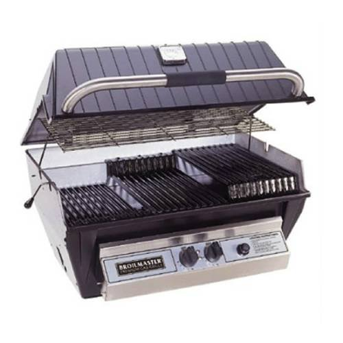 Broilmaster P3X Grill Head, Premium Black Natural Gas