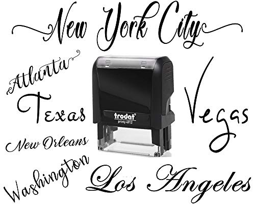 (10+ Fonts - Signature Stamp Customizable Personalized Custom Adult Name Self Inking Stamp One Line Custom Rubber Stamp RN Nurse Teacher Stamper Self Inking Personalized Self-Ink Stamp Name Stamp)