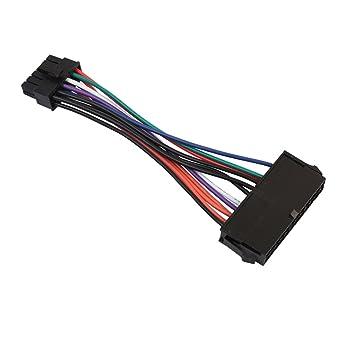 MagiDeal ATX 24 Pin Buchse zu 12 pin Stecker Netzteil: Amazon.de ...