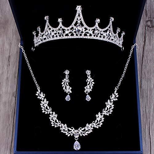 Wedding Crown, Beautiful headdress/Princess Bride Crown Luxurious Diamond Brides Wedding Headwear Wedding Accessories Accessories by Junson (Image #2)