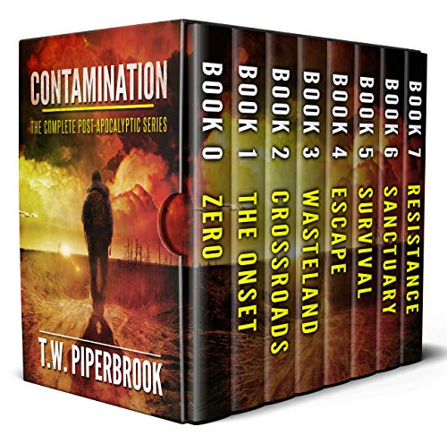 Contamination Box Set: The Complete Post-Apocalyptic Series (Books 0-7) by [Piperbrook, T.W.]