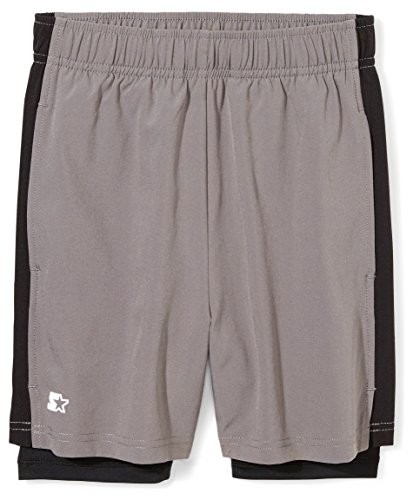 "Starter Boys' 7"" Two-in-One Running Short, Amazon"