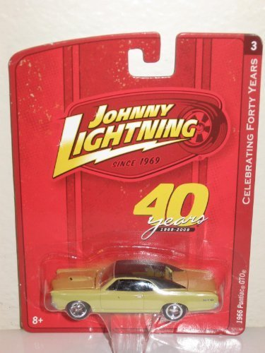 Johnny Lightning Celebrating Forty Years R2 1966 Pontiac GTO