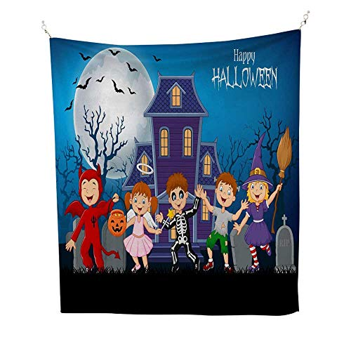 25 Home Decor Tapestries Wall hangings Cartoon Happy