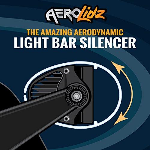 52in led light bar cover - 2