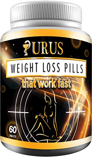 Weight Loss Pills - Diet Pills, Fat Burner, Carb Block & Appetite Suppressant - Dietary - URUS Work Fast for Women and Men