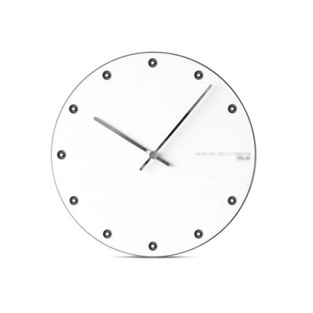 LINGZHIGAN 12インチウォールクロックファッションシンプルなクリエイティブヨーロッパの壁掛け時計モダンなベッドルームホームクォーツ時計ミュート (色 : Black) B07FDVDQKJ Black Black