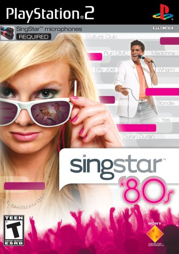 (SingStar 80's (Stand Alone) - PlayStation 2)