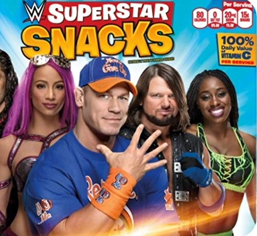 WWE Super Star Fruit Snack Free WWE Defining Moments Elite John Cena Figure