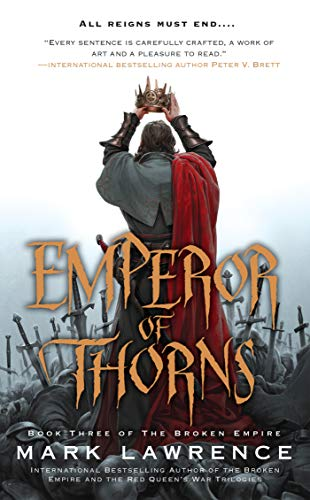 Emperor of Thorns (Broken Empire Vol 3) book cover