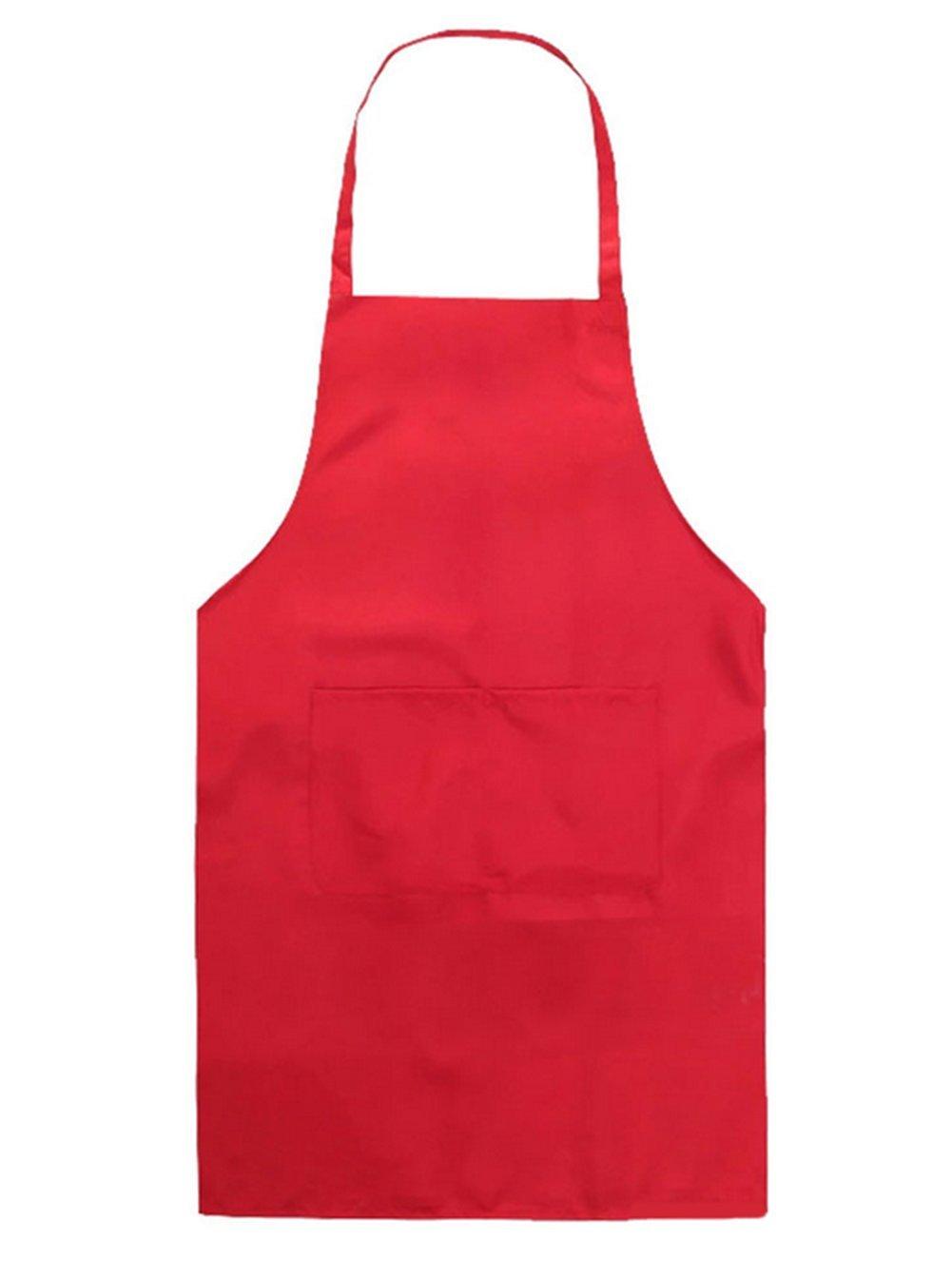 WeiMay Children Kids Apron Pocket Craft Cooking Baking Art Painting Apron for Home/Classroom/Kitchen/Kindergarten, 1pc(Black)