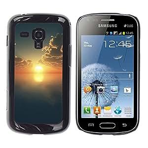 "For Samsung Galaxy S Duos S7562 , S-type Naturaleza Hermosa Forrest Verde 159"" - Arte & diseño plástico duro Fundas Cover Cubre Hard Case Cover"