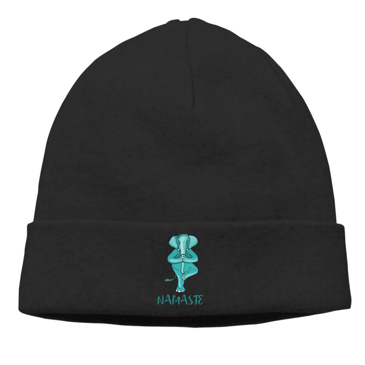 Sootot Yoga Elephant Namaste Dad Beanie Hats Cap Mens/&Womens Warm /& Stylish Skull Cap Beanie Skull Cap
