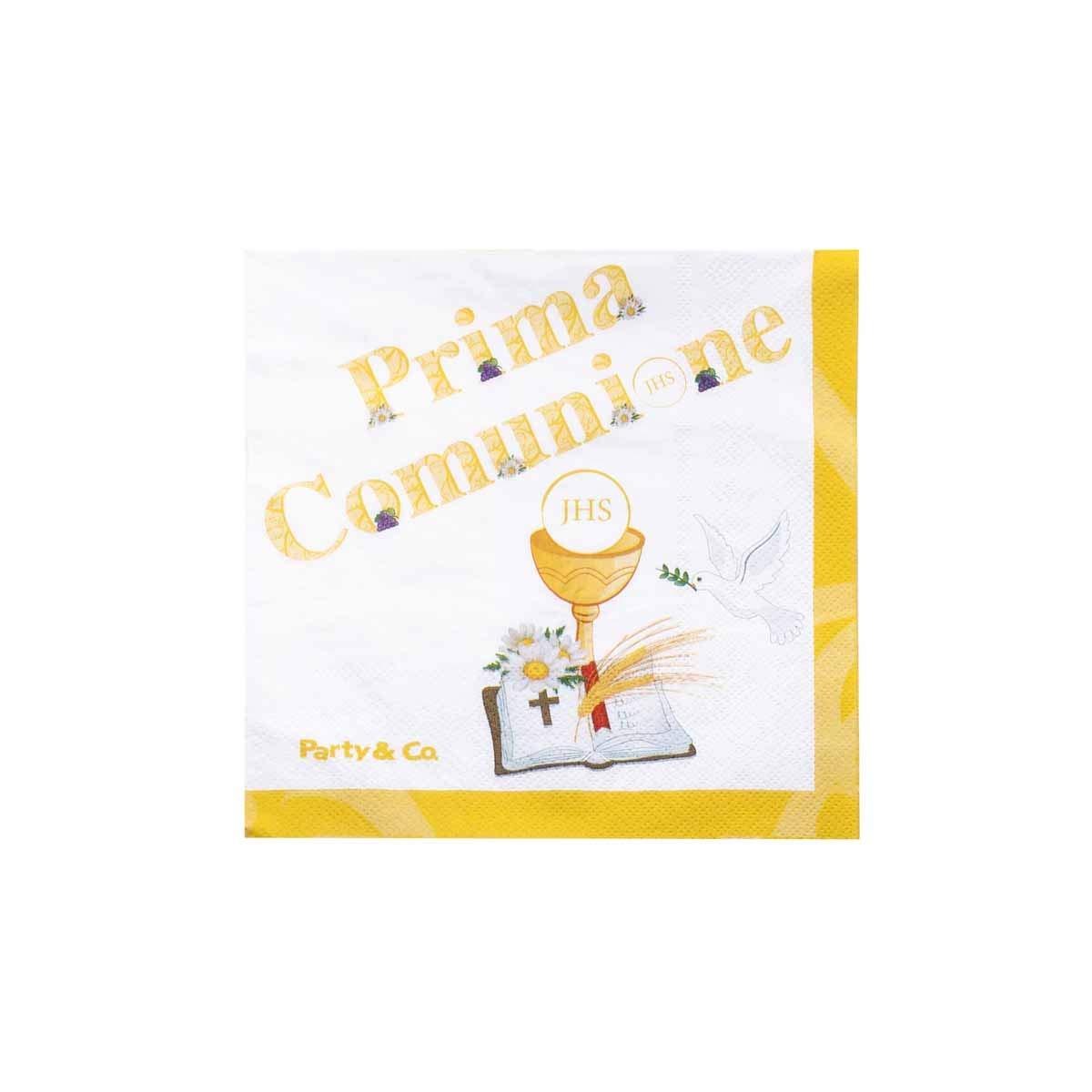 Party & Co. Prima Comunione - Juego de Platos, Vasos, servilletas ...