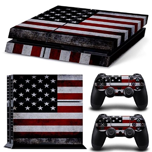 PS4-The-Flag-of-the-United-States-Whole-Body-Vinyl-Skin-Sticker-Decal-Cover-for-PS4-Playstation-4-System-Console-and-Controllers