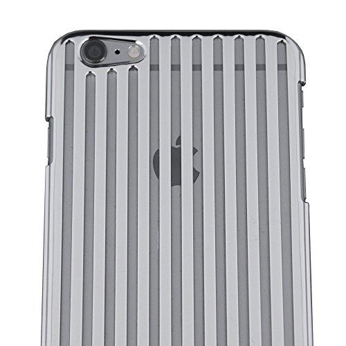iPhone 6 Plus Case, Elemental Cases Vertical Element Case for 5.5 iPhone 6 Plus / 6s Plus (Liquid Silver)