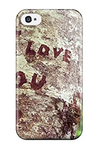JoelNR Case Cover For Iphone 4/4s - Retailer Packaging Holiday Valentines Day Protective Case