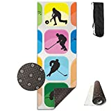QNKUqz Mental Game Training Deluxe Yoga Mat Aerobic Exercise Pilates