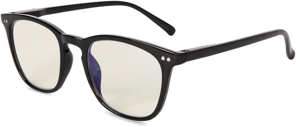 EYEGUARD Anti Blue Rays Glasses Unisex Spring Hinges Computer Reading Glasses,Anti Glare Eyeglasses,Readers UV Protection