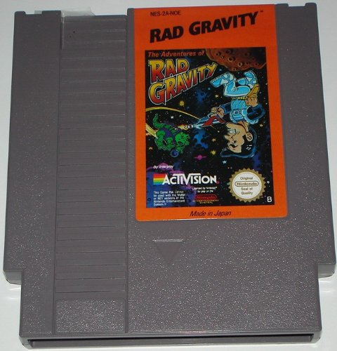The Adventures of Rad Gravity