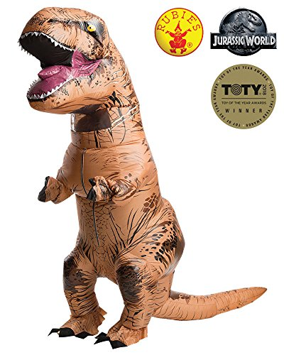 Rubie's Adult Jurassic World T-Rex Inflatable Costume from Rubie's