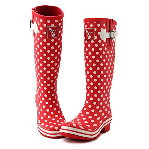 Womens Poka Rain Boot Dots Evercreatures Dots Color Solid Ditsy 6nPvxUx