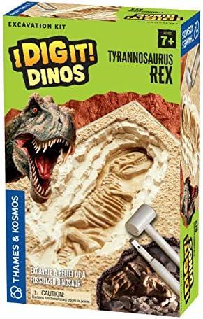 Thames & Kosmos I Dig It Dinos T. Rex Excavation | Science Experiment Kit | Excavate A Tyrannosaurus Rex Dig Site | Paleontology | Dinosaur Toy | Oppenheim Toy Portfolio Platinum Award Winner
