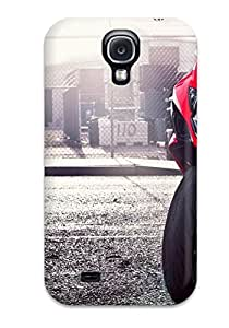Fashionable Style Case Cover Skin For Galaxy S4- Red Suzuki
