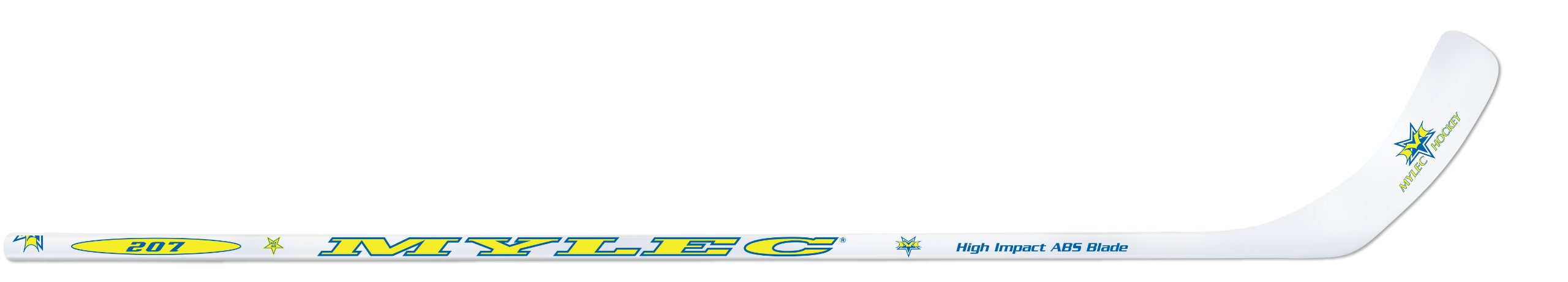Mylec 53-Inch Jr. Hockey Stick with ABS Blade (Left)