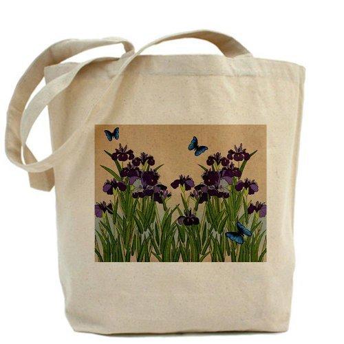 CafePress giapponese Iris Farfalle Tote Bag–Standard Multi-color da CafePress