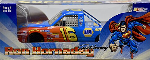 1999-action-rcca-nascar-ron-hornaday-16-superman-napa-racing-chevy-truck-124-scale-die-cast-super-tr