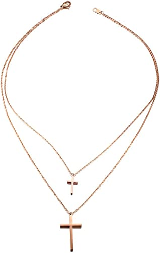 collier double rang homme