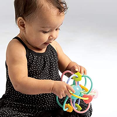 Manhattan Toy Manhattan Ball Baby Rattle & Sensory Teether Toy: Toys & Games