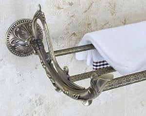 Taccy ba o multi funci n toallero lat n con pulido acabado for Toallero bronce