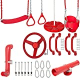 Swing Set Stuff Inc. Ultimate Toddler Kit with Sss Logo Sticker Playground Accessories, Red