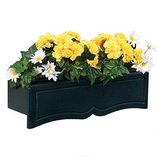 Handy Home Products Wood Flowerbox with Liner, Small (Dropship Flowers)