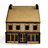 OO Victorian Store with Rear Outhouse -Laser Cut MDF- Model Railroad Scenery