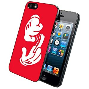 Character Hands Rolling Paper Red iPhone 4/4S Case Back Cover
