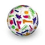 American Educational Vinyl Clever Catch Geometry 2 Ball, 24'' Diameter