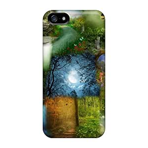 Lewidker GiaIBRL6468RLVHz Case Cover Skin For Iphone 5/5s (light Effects)