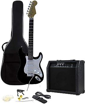 Kit Guitarra Eléctrica con Amplificador