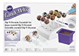 cake pop decorating stand - Wilton 2104-0032 Candy Melts Dip and Clip Decorating Essentials Set